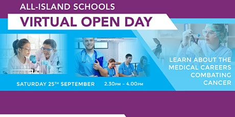 All-Island Schools Open Day - Learn about the Careers Combating Cancer tickets
