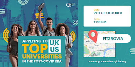 Early Bird   Applying To Top UK & US Universities in the Post-COVID Era tickets