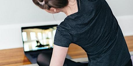 Vill du ha stark och smidig kropp med närvaro -Vinyasa flow yoga biljetter