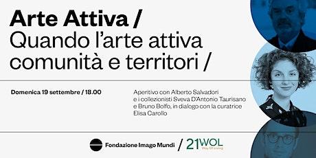 COLLECTING WITH IMPACT - SVEVA TAURISANO, BRUNO BOLFO E ALBERTO SALVADORI. biglietti