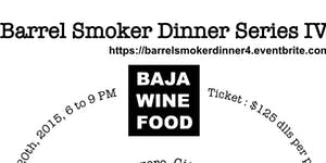 Barrel Smoker Dinner Series IV