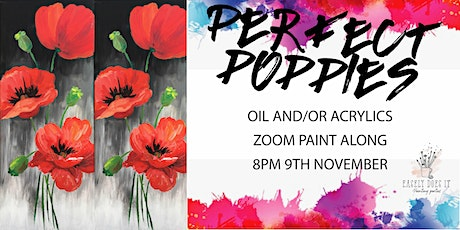 Easely Does It - Perfect Poppies- with Toni + 14 day recording tickets