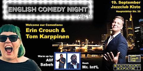 English Comedy Night Vol. 1 Tickets