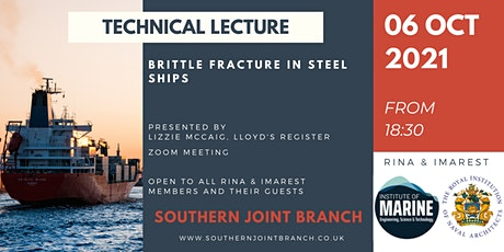 Brittle Fracture in Steel Ships tickets