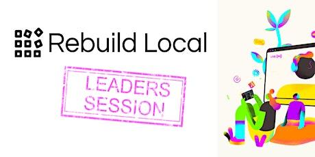 Bradfield Breakfast Tech Talks #1 - Rebuild Local tickets
