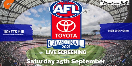 AFL Grand Final 2021 - LIVE in London tickets