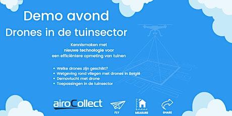Demo avond: drones in de tuinsector tickets