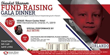 Shaukat Khanum Fundraising Gala Dinner in Orlando, USA tickets