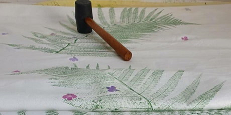 Seasonal plant and flower printing workshop with Appledore Print Workshop tickets