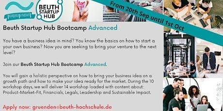 Beuth Startup Hub Bootcamp biglietti