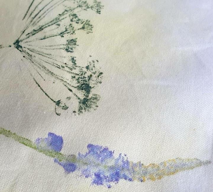 Seasonal plant and flower printing workshop with Appledore Print Workshop image