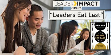 LeaderImpact Groups: 'Leaders Eat Last' - Simon Sinek (Oct 5, Evening Slot) billets