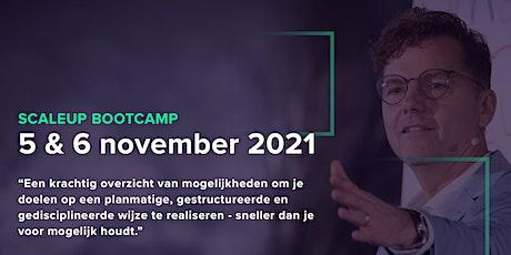 Scaleup Bootcamp - 5 en 6 november 2021 tickets