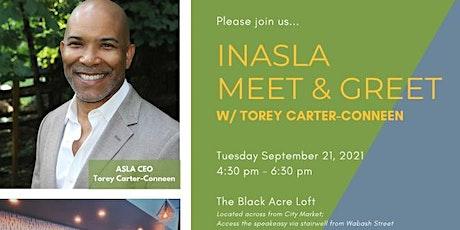 INASLA Meet & Greet with Torey Carter-Conneen tickets