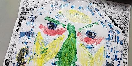 Picnic Portraits: children's food print workshop with Proseprints (7yrs+) tickets