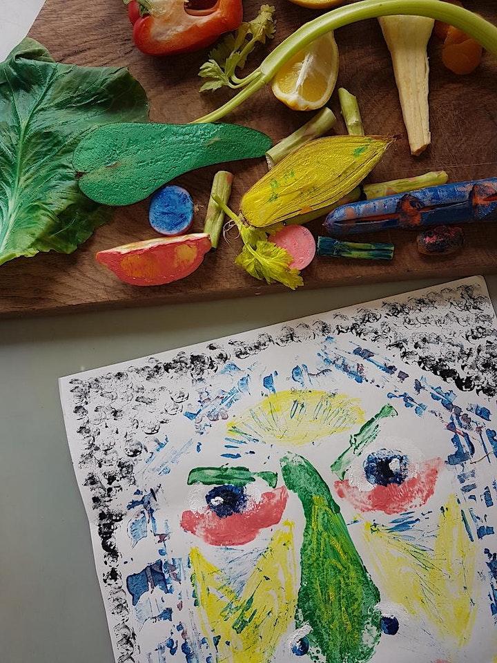 Picnic Portraits: children's food print workshop with Proseprints (7yrs+) image