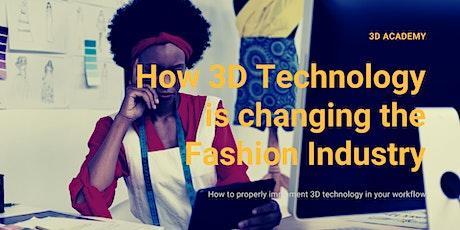Come implementare strategicamente il 3D nel processo di sviluppo - Fashion biglietti