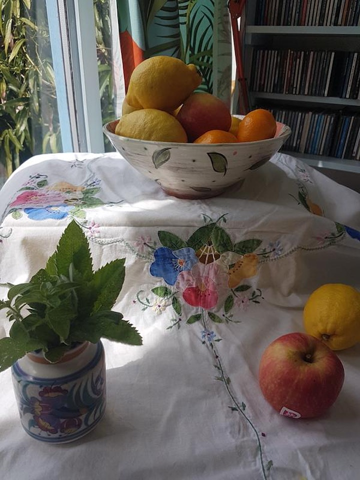 Still lifes: a collage and print workshop for adults with Proseprints image