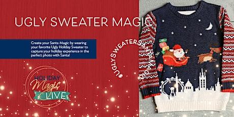 Meet Santa LIVE Wearing Your Favorite Ugly Sweater! billets