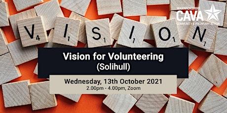 Vision for Volunteering (Solihull) tickets