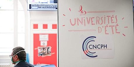 Universités d'été de la conception universelle et de l'inclusion du CNCPH billets
