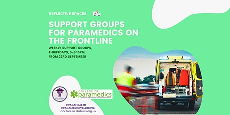 Reflective Spaces: Paramedics Support Groups - Frontline Workers tickets
