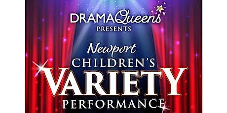 Children's Variety Performance tickets