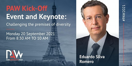 PAW Kick-off Event and Keynote: Challenging the premises of diversity tickets