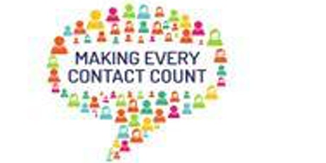 BSW Virtual MECC (Making Every Contact Count) tickets