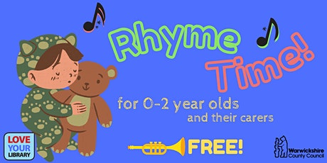 Rhyme Time at Coleshill Library tickets