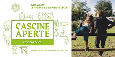 Cascine Aperte Milano; spazi di socialità tra agricoltura e design biglietti