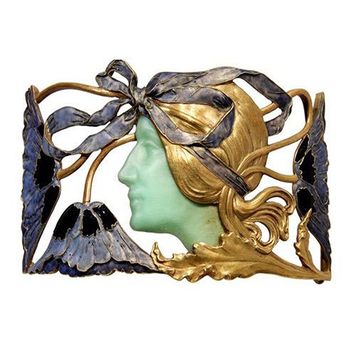 Rene Lalique and The Age of Glass - Online Art Talk for Adults image