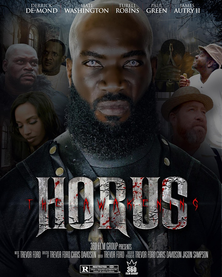 HORUS THE AWAKENING FIRST SHOWING MEMORIAL CITY MALL OCTOBER 21st image
