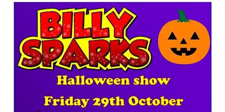Billy Sparks Halloween party & Magic show  Preston tickets