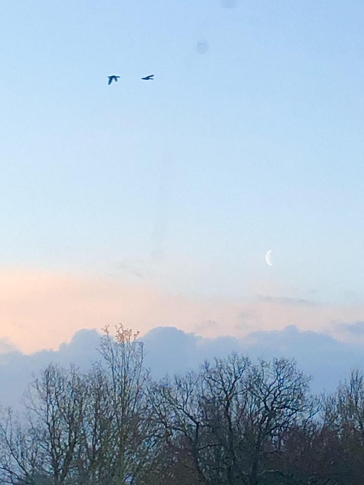Slow Sundown mit Spirit&Heart Art: Bild