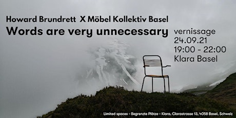 Words are very unnecessary  - Photography Exhibit Vernissage tickets