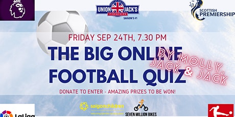 The Big Online Football Quiz by Molly, Jack & Jack! tickets