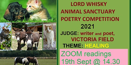 Lord Whisky Sanctuary Poetry Comp - the poems  + reading by Victoria Field tickets