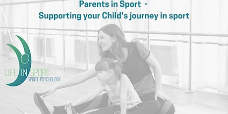 Parents in Sport - Supporting your Child's journey in sport tickets