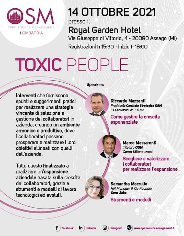 Immagine Toxic People: come gestire i conflitti e assumere collaboratori vincenti