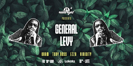 Wide Eyes: General Levy tickets