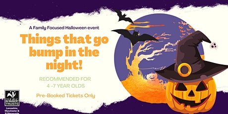 Things That Go Bump In the Night - Saturday 23rd  October (9.45am session) tickets