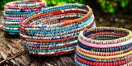 WORKSHOP | Textile Coiled Rope Basket with Zenzero Design tickets