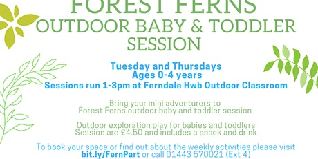 Forest Ferns Baby and Toddler (Age 0-4) Halloween Special tickets