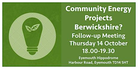 Community Energy Meeting 2 tickets