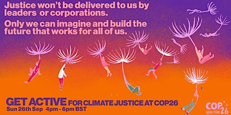 Get Active for Climate Justice at COP26 tickets