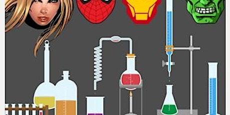 El laboratorio de los superhéroes de MARVEL entradas