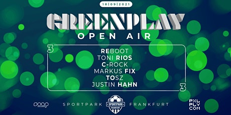 GREENPLAY Open Air 3 Tickets