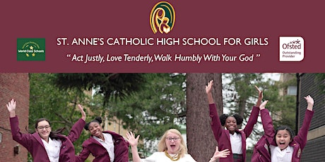 St. Anne's Catholic High School for Girls Open Evening 2021 tickets