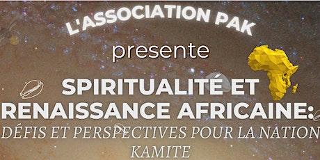 Spiritualité, science et renaissance africaine pour la Nation Kamite billets